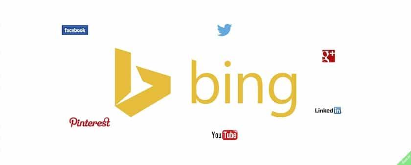 bing connected pages statistiques de vos réseaux sociaux sur bing