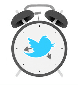twitter timing clock