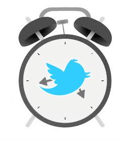 twitter timing clock