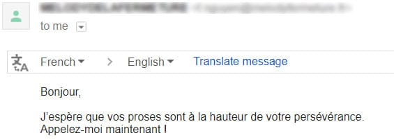 exemple cold email reponse 5