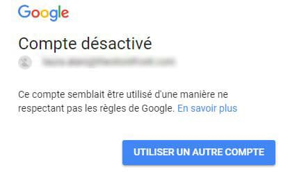 Cold email réponse Google