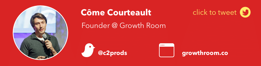 come courteault growth room