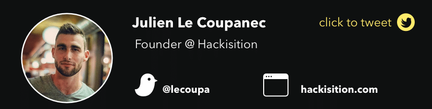 julien le coupanec hackisition