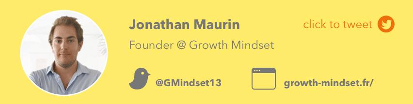 jonathan maurin growth mindset