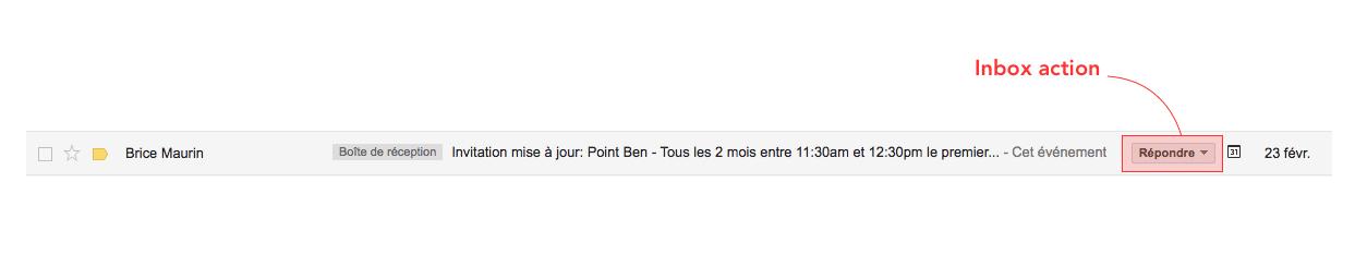 inbox actions example