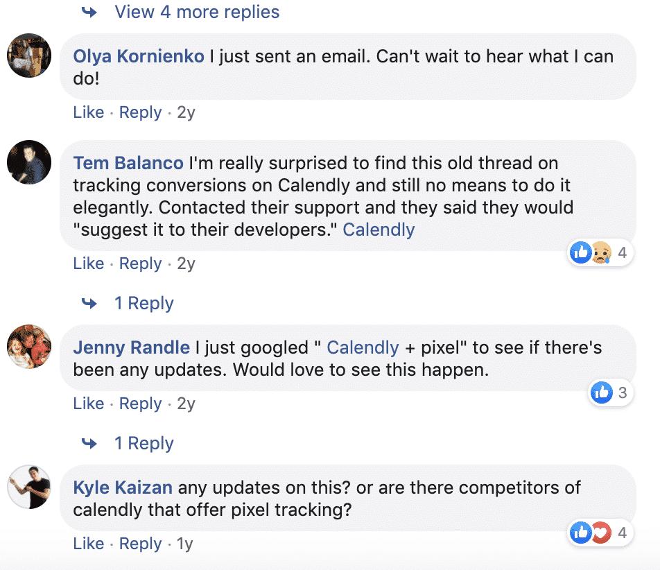 Facebook Calendly Pixel
