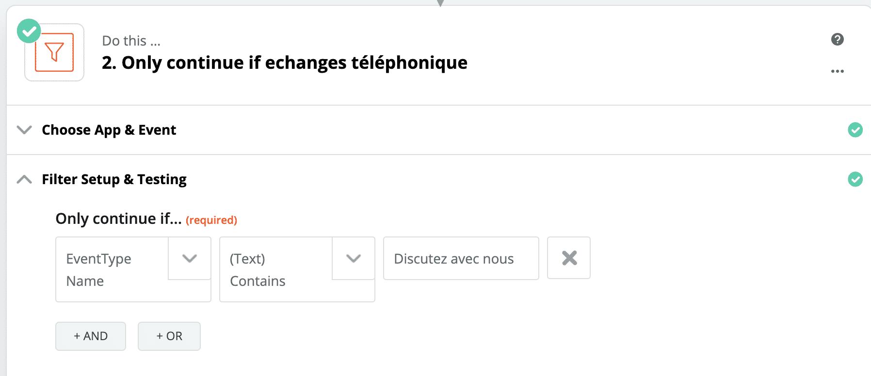 filter calendly facebook pixel